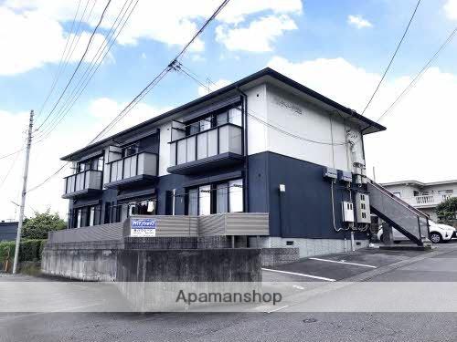 静岡県富士市、新富士駅徒歩75分の築18年 2階建の賃貸アパート
