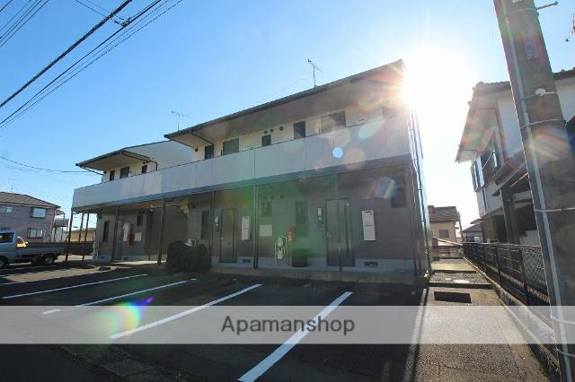 静岡県富士市、富士駅富士急行バス25分桜ヶ丘入口下車後徒歩5分の築16年 2階建の賃貸アパート