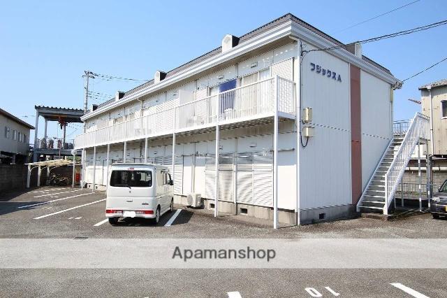 静岡県富士市、ジヤトコ前(ジヤトコ1地区前)駅徒歩5分の築25年 2階建の賃貸アパート