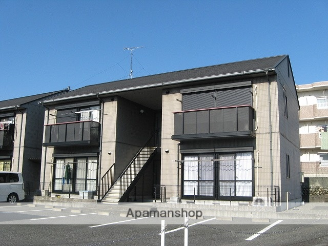 静岡県富士市、富士根駅徒歩12分の築20年 2階建の賃貸アパート