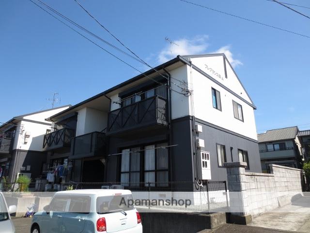 静岡県富士市、富士駅富士急行バス20分石坂下車後徒歩7分の築22年 2階建の賃貸アパート
