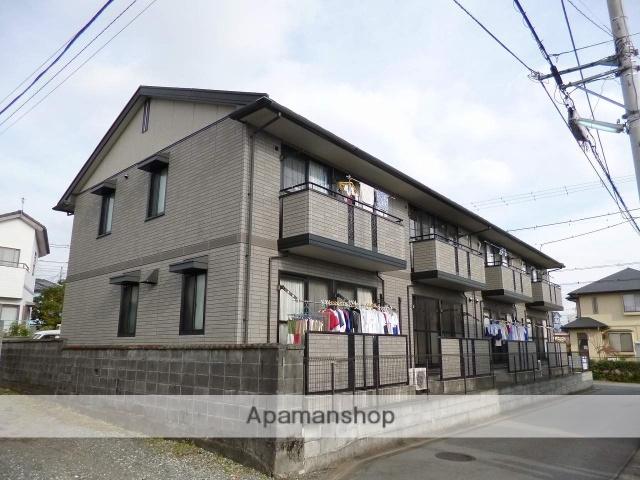 静岡県富士市、富士駅富士急行バスバス10分伝法沢東下車後徒歩2分の築14年 2階建の賃貸アパート