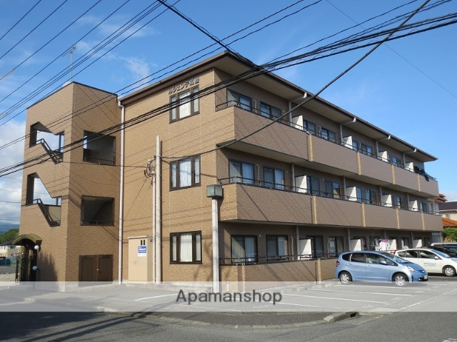 静岡県富士市、新富士駅徒歩39分の築20年 3階建の賃貸マンション