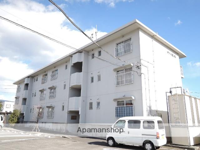 静岡県富士宮市、西富士宮駅徒歩20分の築28年 3階建の賃貸マンション