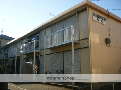 静岡県浜松市中区、浜松駅遠鉄バスバス16分西高入口下車後徒歩28分の築37年 2階建の賃貸アパート