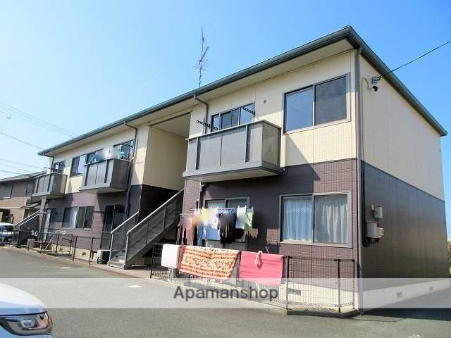 静岡県浜松市西区、浜松駅バス35分山崎南下車後徒歩2分の築16年 2階建の賃貸アパート