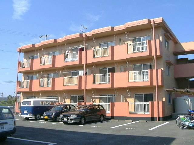 静岡県浜松市西区の築28年 3階建の賃貸マンション