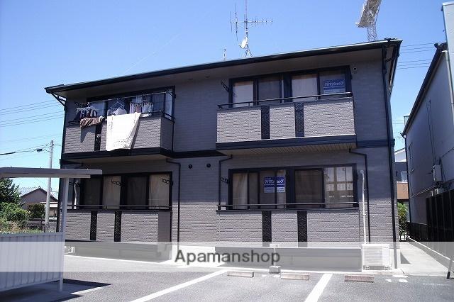 静岡県浜松市南区、浜松駅遠鉄バス17分西若林下車後徒歩3分の築17年 2階建の賃貸アパート