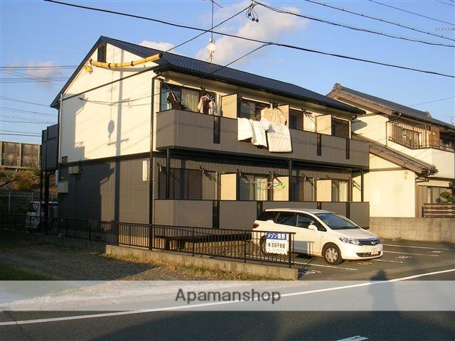 静岡県浜松市西区、浜松駅遠鉄バスバス45分馬郡東下車後徒歩5分の築20年 2階建の賃貸アパート