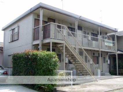 静岡県浜松市中区、浜松駅遠鉄バスバス10分向宿町下車後徒歩8分の築26年 2階建の賃貸アパート