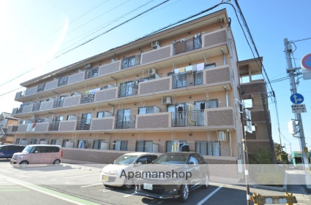 静岡県浜松市東区、浜松駅遠鉄バスバス20分与進小下車後徒歩4分の築12年 4階建の賃貸マンション