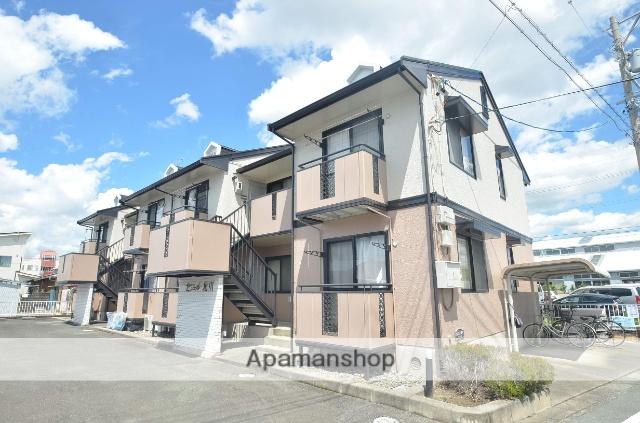 静岡県浜松市東区、天竜川駅徒歩15分の築23年 2階建の賃貸アパート