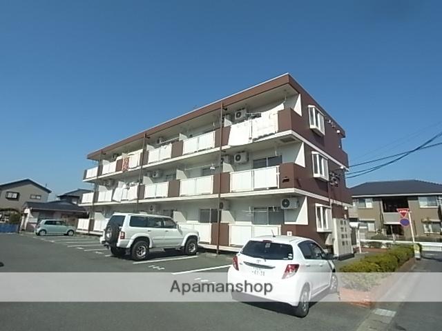 静岡県浜松市東区、天竜川駅徒歩8分の築21年 3階建の賃貸マンション