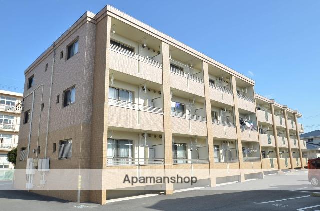 静岡県浜松市浜北区、美薗中央公園駅徒歩12分の築7年 3階建の賃貸マンション