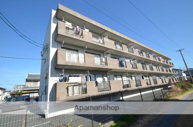 静岡県浜松市東区、浜松駅遠鉄バスバス30分下石田下車後徒歩4分の築20年 3階建の賃貸マンション