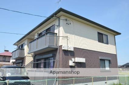 静岡県浜松市東区、浜松駅遠鉄バスバス25分安間町下車後徒歩7分の築15年 2階建の賃貸アパート