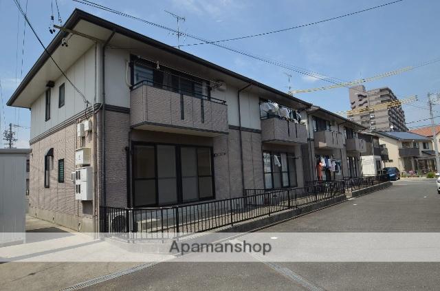 静岡県浜松市東区、天竜川駅徒歩3分の築22年 2階建の賃貸アパート