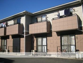 静岡県浜松市中区、浜松駅徒歩22分の築18年 2階建の賃貸テラスハウス