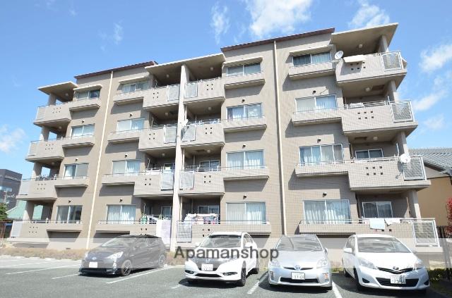 静岡県浜松市東区、天竜川駅徒歩14分の築17年 4階建の賃貸マンション