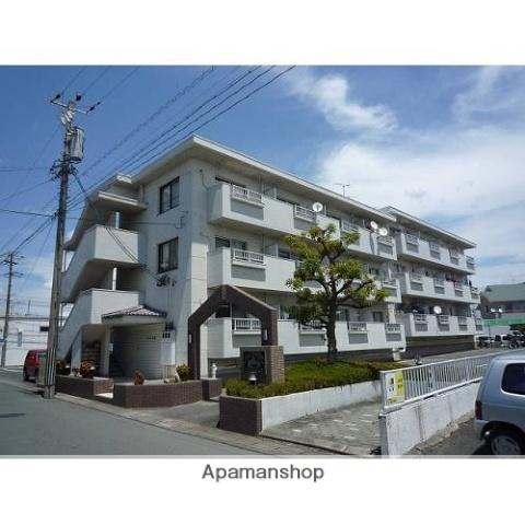 静岡県浜松市東区、天竜川駅徒歩26分の築32年 3階建の賃貸マンション