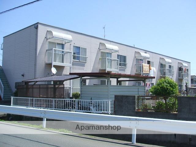 静岡県浜松市東区の築32年 2階建の賃貸アパート
