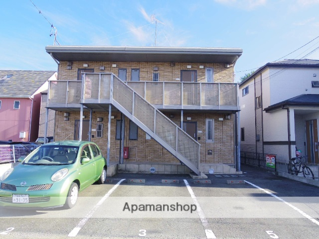 静岡県浜松市中区、浜松駅バス30分萩丘下車後徒歩4分の築12年 2階建の賃貸アパート