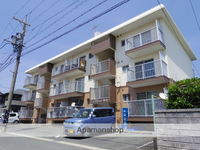 静岡県浜松市中区、浜松駅遠鉄バスバス22分中山下車後徒歩5分の築32年 3階建の賃貸マンション