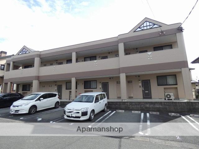 静岡県浜松市東区、浜松駅バス35分北やぶ入口下車後徒歩5分の築8年 2階建の賃貸マンション