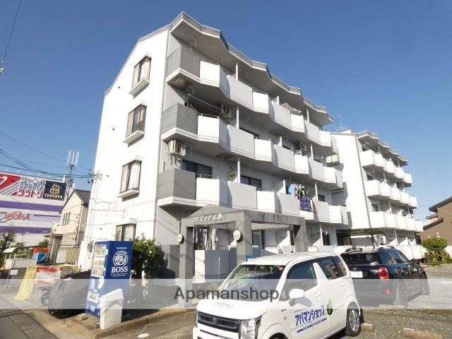 静岡県浜松市東区、天竜川駅徒歩27分の築29年 4階建の賃貸マンション