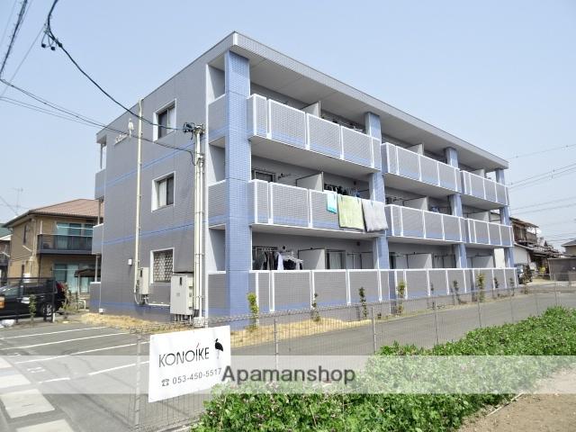 静岡県浜松市浜北区、浜北駅徒歩13分の築9年 3階建の賃貸マンション