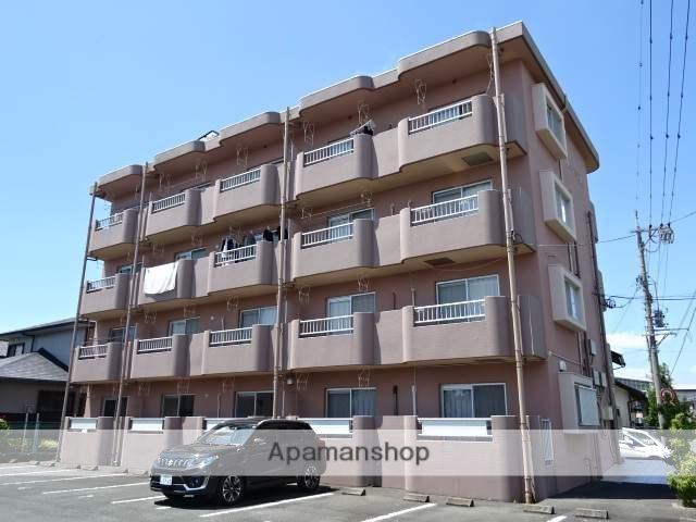 静岡県浜松市浜北区、遠州西ヶ崎駅徒歩17分の築23年 4階建の賃貸マンション