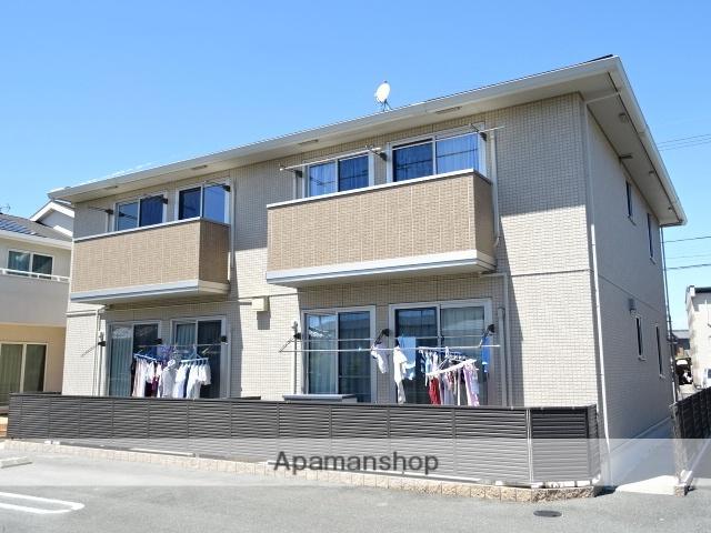 静岡県浜松市浜北区、遠州小松駅徒歩21分の築7年 2階建の賃貸アパート