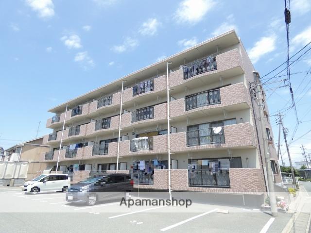 静岡県浜松市東区、天竜川駅徒歩17分の築17年 4階建の賃貸マンション