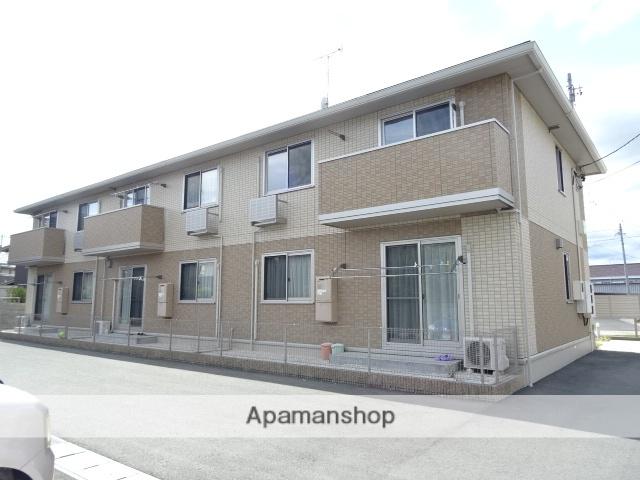静岡県浜松市浜北区、遠州小松駅徒歩18分の築4年 2階建の賃貸アパート