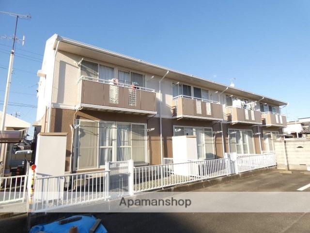 静岡県浜松市東区、天竜川駅徒歩10分の築26年 2階建の賃貸アパート