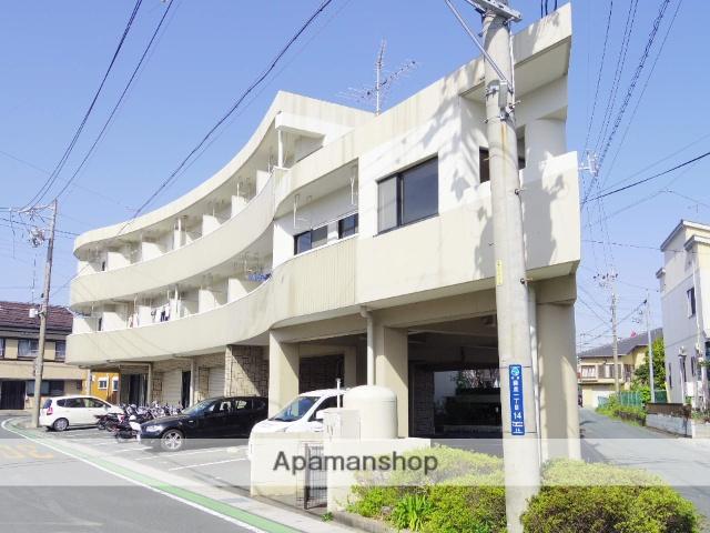 静岡県浜松市中区、浜松駅バス20分萩丘下車後徒歩3分の築27年 3階建の賃貸マンション