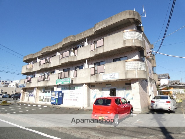 静岡県浜松市東区、浜松駅遠鉄バスバス20分西塚町下車後徒歩2分の築23年 3階建の賃貸マンション