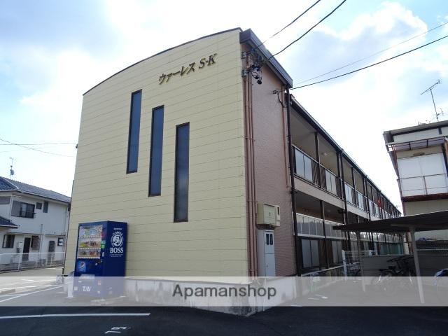 静岡県浜松市浜北区、遠州小松駅徒歩22分の築15年 2階建の賃貸アパート