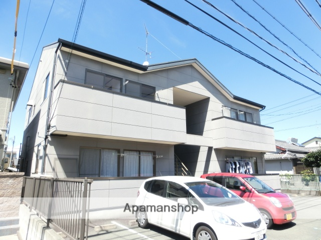 静岡県浜松市東区、浜松駅バス41分下石田下車後徒歩2分の築17年 2階建の賃貸アパート
