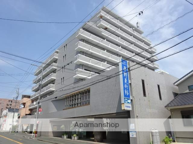 静岡県浜松市中区、浜松駅徒歩20分の築29年 10階建の賃貸マンション