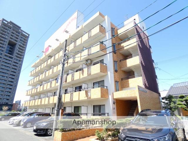 静岡県浜松市中区、浜松駅徒歩13分の築30年 5階建の賃貸マンション