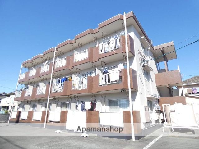 静岡県浜松市東区、天竜川駅徒歩29分の築27年 3階建の賃貸マンション