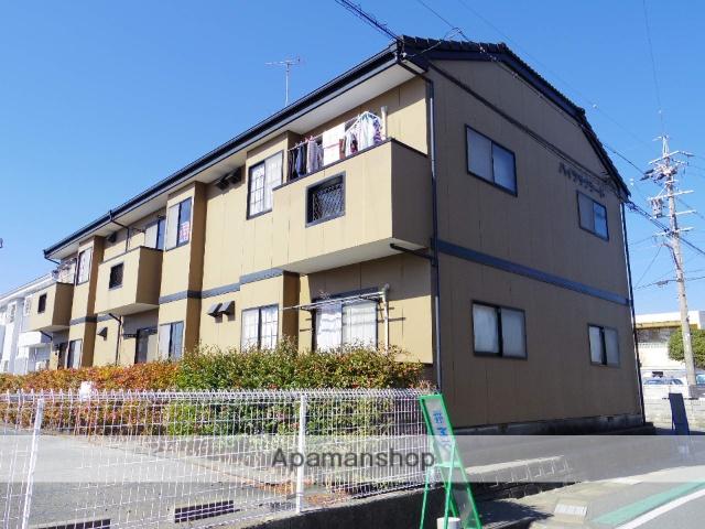 静岡県浜松市中区、浜松駅遠州鉄道バス17分上島西下車後徒歩5分の築18年 2階建の賃貸アパート