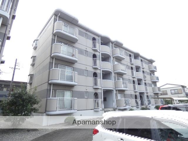 静岡県浜松市東区、天竜川駅徒歩30分の築23年 4階建の賃貸マンション