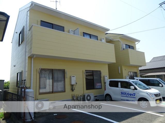 静岡県浜松市北区、浜松駅遠鉄バスバス49分別院下車後徒歩14分の築21年 2階建の賃貸アパート