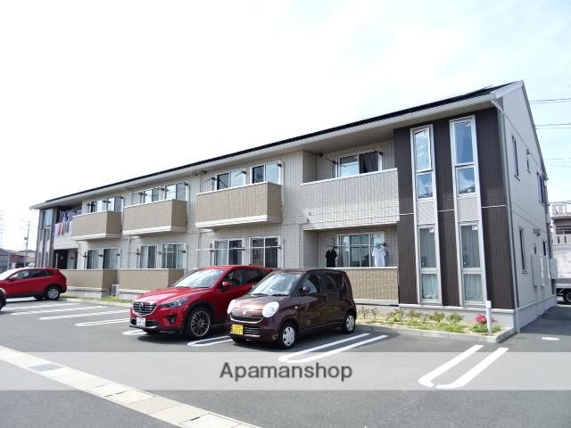 静岡県浜松市中区、浜松駅徒歩34分の築4年 2階建の賃貸アパート