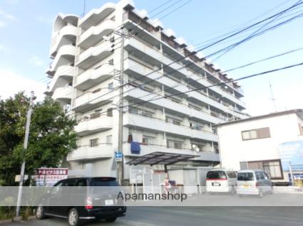 静岡県浜松市東区、天竜川駅徒歩16分の築32年 7階建の賃貸マンション