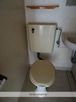静岡県浜松市東区半田山4丁目[1K/20.98m2]のトイレ