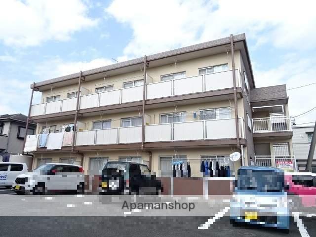 静岡県浜松市中区、浜松駅遠鉄バスバス20分和合住宅入口下車後徒歩3分の築30年 3階建の賃貸マンション