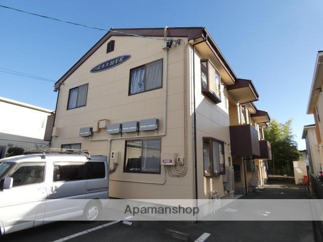 静岡県浜松市東区、自動車学校前駅徒歩14分の築16年 2階建の賃貸アパート